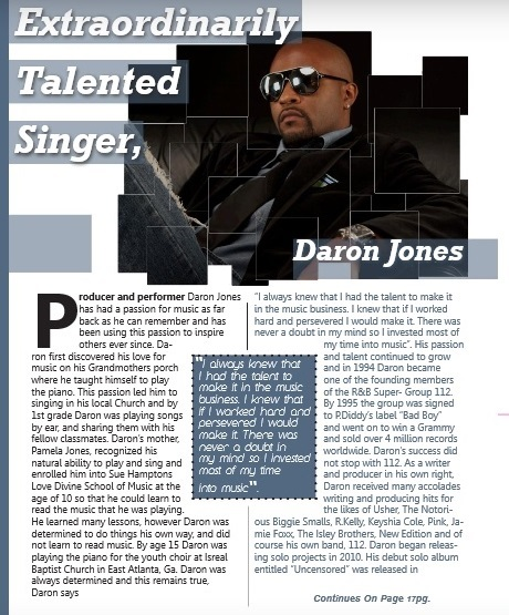 Daron Jones -article feature