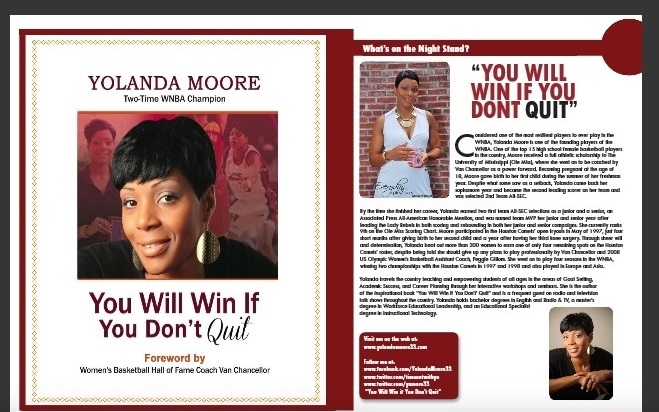 Yolanda Moore - article feature